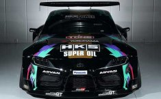 HKS Toyota Supra Drift Car: Monster Drift Bertenaga 700 HP