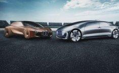 Kesampingkan Persaingan, BMW dan Mercedes Kerja Sama Kembangkan Mobil Swakemudi