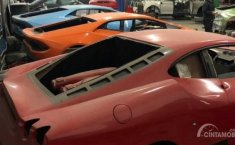 Polisi Grebek Pabrik Ferrari-Lamborghini Illegal di Brazil