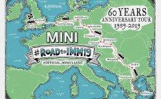Perayaan Ulang Tahun MINI ke-60 Dirayakan dengan Tur Melintasi Eropa