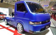 Modifikasi All New Suzuki Carry, Ekstrim Pakai Suspensi Udara