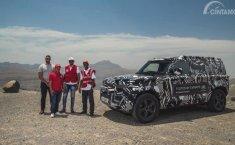 Palang Merah Internasional Jajal Generasi Terbaru Land Rover Defender