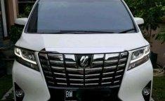 Jual mobil Toyota Alphard Q 2017 bekas, Riau