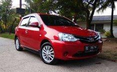 Toyota Etios 2016 Sumatra Selatan dijual dengan harga termurah