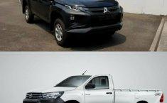 Komparasi Mitsubishi New Triton HDX S-Cab 4WD M/T 2019 vs Toyota Hilux Single Cabin Diesel 4x4 2019