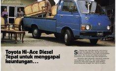 Sejarah Toyota HiAce, Dari Pikap Hingga Bisnis Tour dan Travel nan Ekonomis