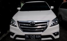 Jual mobil Toyota Kijang Innova 2.0 V 2014 murah di Sumatra Utara