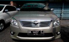 Jual Toyota Kijang Innova 2.5 G 2012 murah di Sumatra Utara