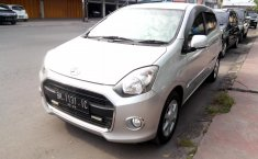 Mobil Daihatsu Ayla X 2014 terawat di Sumatra Utara
