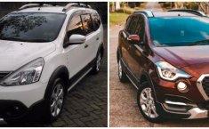 Komparasi Bekas Atau Baru: Nissan Grand Livina X-Gear vs Datsun Cross, Pilihan Mobil Keluarga Bertampang Tangguh