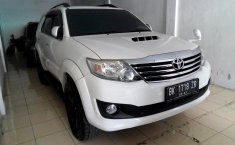 Jual mobil Toyota Fortuner G 4x4 VNT 2012 murah di Sumatra Utara
