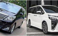 Komparasi Baru atau Bekas: Toyota Voxy Baru VS Toyota Alphard Bekas, Pertarungan Citra Mobil Keluarga Mewah Rp500 Jutaan