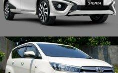 Komparasi Baru Atau Bekas: Perang Harga Rp 300 Jutaan, New Toyota Sienta Q CVT 2019 vs Toyota Innova 2.0 V M/T 2018