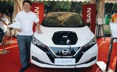 Dukung Program Pemerintah, Nissan Ramaikan Parade Kendaraan Listrik