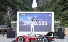 Volkswagen ID.R Kembali Pecahkan Rekor Hill Climb, Kali Ini Gunung Tianmen