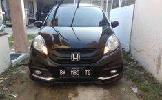 Jual mobil bekas murah Honda Brio Satya 2015 di Riau