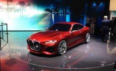 Review BMW Concept 4 2019: Kembalinya Gril Kidney Besar BMW serta Desain nan Seksi
