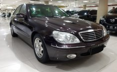 Dijual mobil bekas Mercedes-Benz S-Class S 280 2000, DKI Jakarta