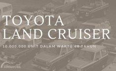 [INFOGRAFIK] Sejarah Toyota Land Cruiser: 10 Juta Unit di 150 Negara