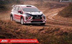 XPANDER Rally Team Sukses Lakukan Uji Coba Prototype XPANDER AP4