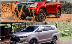 Komparasi SUV VS MPV: Isuzu Mu-X I-Series VS Toyota Venturer 2.4 Q M/T, Adu Mobil Keluarga Gagah Harga Rp450 jutaan