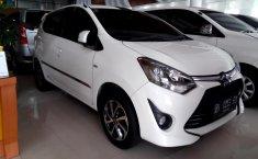 Mobil Toyota Agya 1.2 G 2017 terawat di Sumatra Utara