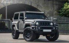 Jeep Wrangler Black Hawk Military Edition : Paket Modifikasi Serba Gelap