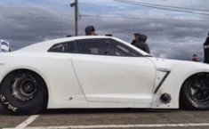 Inilah Nissan GT-R Terkencang Di Dunia Dengan 3.000 Hp Khusus Buat Drag Race