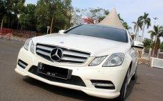 Jual mobil Mercedes-Benz E-Class E250 2012 bekas di DKI Jakarta