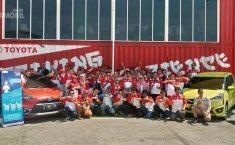 TOSCA Menjajal Toyota Driving Experience Bersama New Sienta