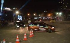 Honda Brio Saturday Night Challenge Ajak Arek Suroboyo Slalom Malam Minggu