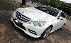 Jual mobil Mercedes-Benz E-Class E250 2012 murah di DKI Jakarta