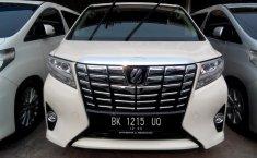Mobil Toyota Alphard G 2015 dijual, Sumatra Utara
