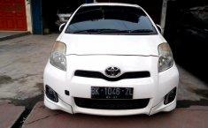 Jual mobil Toyota Yaris E 2012 murah di Sumatra Utara