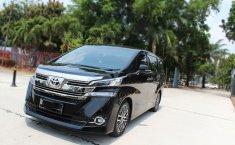 Jual cepat mobil Toyota Vellfire G ATPM 2017 di DKI Jakarta