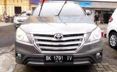 Jual mobil Toyota Kijang Innova 2.5 G 2014 terawat di Sumatra Utara