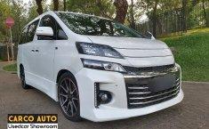 Jual mobil Toyota Vellfire 2.4 NA 2013 murah di Banten