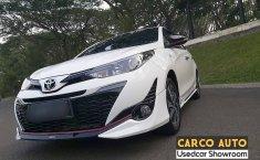 Jual cepat mobil Toyota Yaris TRD Sportivo 2018 di Banten