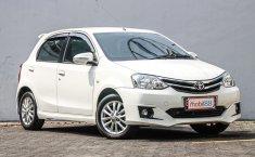 Jual mobil Toyota Etios Valco G 2016 terawat di DKI Jakarta