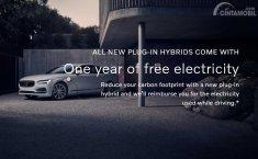 Beli Mobil Volvo Plug In Hybrid, Pembeli Bisa Ngecas Gratis Satu Tahun