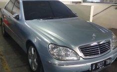 Jual mobil Mercedes-Benz S-Class S 280 2001 murah di DKI Jakarta