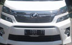 Jual Toyota Vellfire ZG 2014 bekas di Jawa Timur
