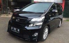 Jual Toyota Vellfire ZG 2014 harga murah di DKI Jakarta