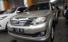 Jual cepat Toyota Fortuner 2.4 G 2012 terbaik di Jawa Barat