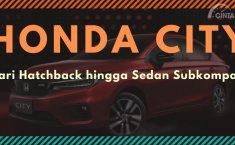 [INFOGRAFIK] Sejarah Honda City: Dari Hatchback Tiga Pintu Hingga Sedan