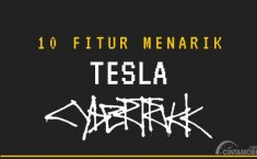 [INFOGRAFIK] Aneh atau Unik? 10 Fitur Menarik Milik Tesla Cybertruck