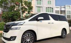 DKI Jakarta, Mobil Toyota Vellfire  2.5 G ATPM 2017/2018 dijual