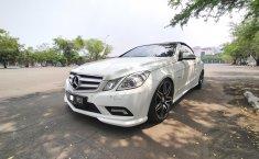 Jual mobil Mercedes-Benz E-Class E 250 Cabriolet 2011 murah di DKI Jakarta