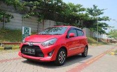 Jual cepat mobil Toyota Agya G 2017 di Jawa Barat
