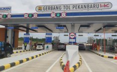 Pembangunan Jalan Tol Pekanbaru - Dumai, Progres Lebih Dari 65 Persen